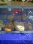 Bread stand at the Farmers Market.