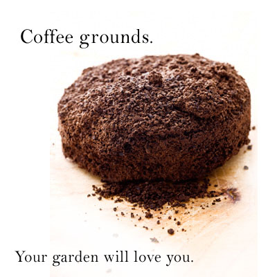 Grounds for your garden thanks to starbucks stephaniegetsridofhercrap for How to use coffee grounds in garden